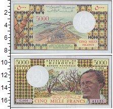 Изображение Банкноты Джибути 5000 франков 0  UNC