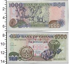 Изображение Банкноты Гана 1000 седи 2003  UNC