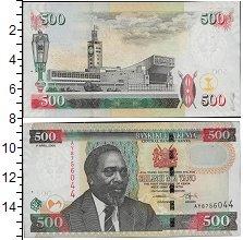 Изображение Боны Кения 500 шиллингов 2010  UNC Портрет М.Д. Кениатт