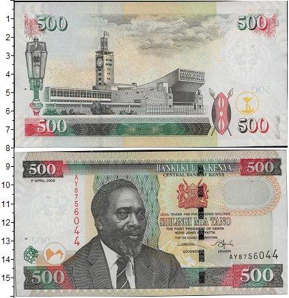 Картинка Боны Кения 500 шиллингов  2010