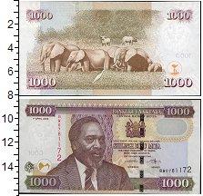 Изображение Боны Кения 1000 шиллингов 2010  UNC Портрет М.Д. Кениатт