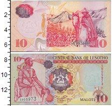 Изображение Банкноты Лесото 10 малоти 2006  UNC