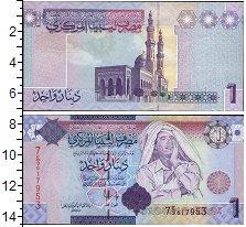 Изображение Боны Ливия 1 динар 0  UNC