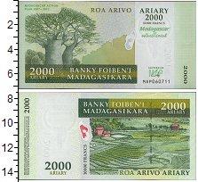 Изображение Банкноты Мадагаскар 2000 франков 2007  UNC