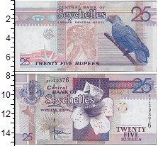 Изображение Банкноты Сейшелы 25 рупий 0  UNC