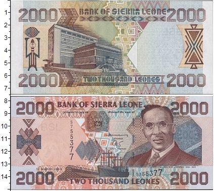 Картинка Боны Сьерра-Леоне 2.000 леоне  2003