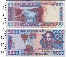 Изображение Боны Сьерра-Леоне 5000 леоне 0  UNC
