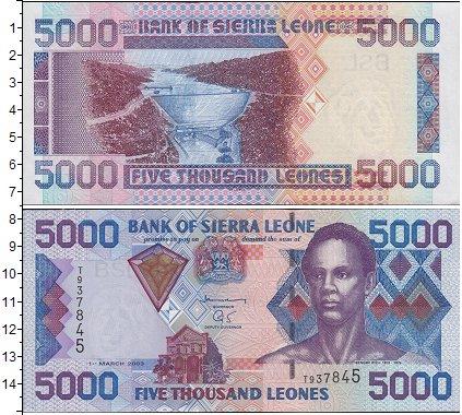 Картинка Боны Сьерра-Леоне 5.000 леоне  0