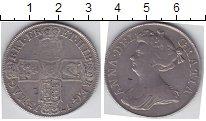 Изображение Монеты Великобритания 1/2 кроны 1713 Серебро  Анна