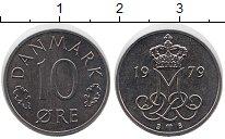 Изображение Мелочь Дания 10 эре 1976 Медно-никель AUNC