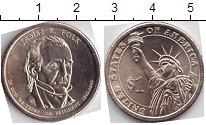 Изображение Мелочь США 1 доллар 2009 Медно-никель UNC- 11-президент Америки