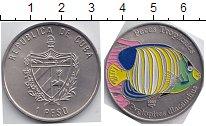 Изображение Мелочь Куба 1 песо 2005 Медно-никель UNC-