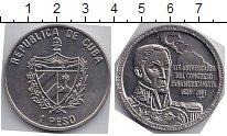 Изображение Мелочь Куба 1 песо 2001 Медно-никель UNC 175- летие конгресса