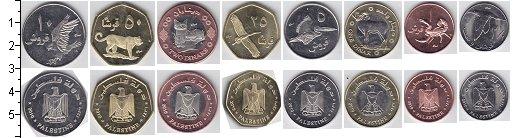 Изображение Наборы монет Палестина Палестина 2010 2010  UNC В наборе 8 монет ном