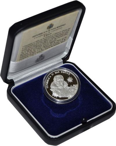 Изображение Подарочные монеты Сан-Марино Международный год астрономии 2009 Серебро Proof