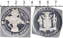 Изображение Монеты Ямайка 10 долларов 1984 Серебро  Декада женщин