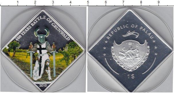 Картинка Мелочь Палау 1 доллар Посеребрение 2010