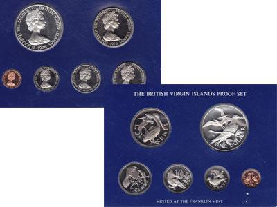 """Изображение Подарочные монеты Виргинские острова Выпуск 1976 года 1976  Proof """"Предлагаем вашему в"""