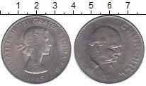 Изображение Мелочь Великобритания 1 крона 1965 Медно-никель XF В. Черчилль