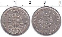 Изображение Мелочь Ангола 2 1/2 эскудо 1953 Медно-никель VF Тираж 6-000-000. Цен