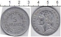 Изображение Мелочь Франция 5 франков 1945 Алюминий VF /