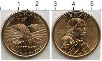 Изображение Мелочь США 1 доллар 2010  AUNC