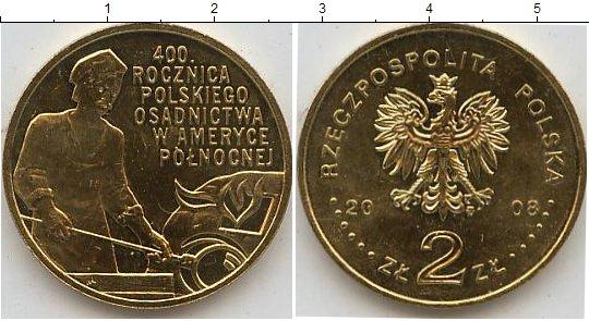 Картинка Мелочь Польша 2 злотых  2008