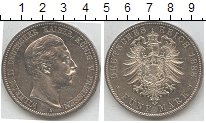 Изображение Монеты Германия Пруссия 5 марок 1888 Серебро XF