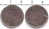 Изображение Монеты Бавария 6 крейцеров 1807 Медь