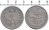 Изображение Мелочь ФРГ 5 марок 1983 Медно-никель UNC G. Мартин Лютер