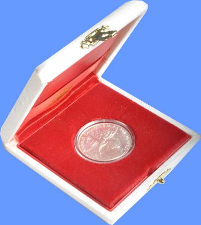 Изображение Подарочные монеты Ватикан Понтифик Иоанн Павел 1995 Серебро UNC