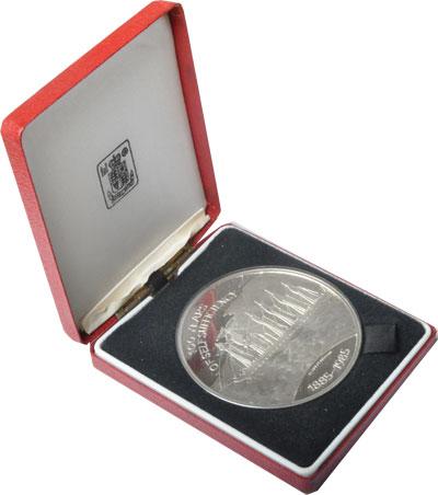 Изображение Подарочные монеты Фолклендские острова 100- летие независимости 1985 Серебро Proof