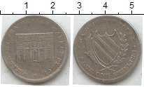 Изображение Монеты Великобритания 1 шиллинг 0 Серебро  Манчестер. Токен