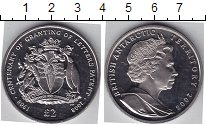Изображение Мелочь Антарктика 2 фунта 2008 Медно-никель UNC