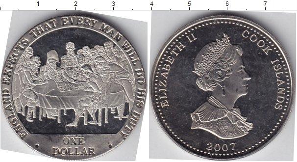 Картинка Мелочь Острова Кука 1 доллар Медно-никель 2007