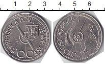 Изображение Мелочь Португалия 100 эскудо 1987 Медно-никель UNC- .