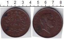 Изображение Мелочь Малайзия Саравак 1 цент 1929 Медь XF-