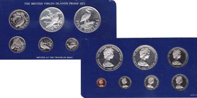 Изображение Подарочные монеты Виргинские острова Выпуск 1980 года 1980  Proof Предлагаем вашему вн