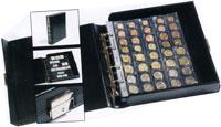 Изображение Аксессуары для монет Optima Альбом Optima Classic Box-Binder (CLOPBOBIS) без футляра, без листов 0   Размер альбома 235x2