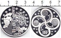 Изображение Монеты Франция 1 1/2 евро 2003 Серебро Proof Европа
