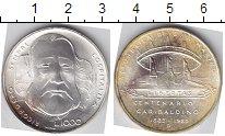 Изображение Монеты Сан-Марино 1000 лир 1982 Серебро UNC-