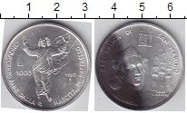 Изображение Монеты Сан-Марино 1000 лир 1983 Серебро UNC-