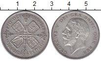 Изображение Мелочь Великобритания 1/2 кроны 1936 Серебро