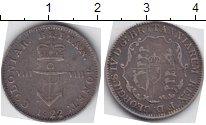 Изображение Монеты Великобритания 1/8 доллара 1822 Серебро  Георг IV. Использова