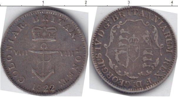 Картинка Монеты Великобритания 1/8 доллара Серебро 1822