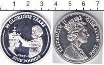 Изображение Монеты Гибралтар 5 фунтов 2006 Серебро  80-летие королевы