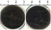 Изображение Монеты Великобритания 1/2 пенни 1799 Медь  Георг III