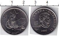 Изображение Мелочь Канада 25 центов 2007 Медно-никель  Олимпийские игры в В