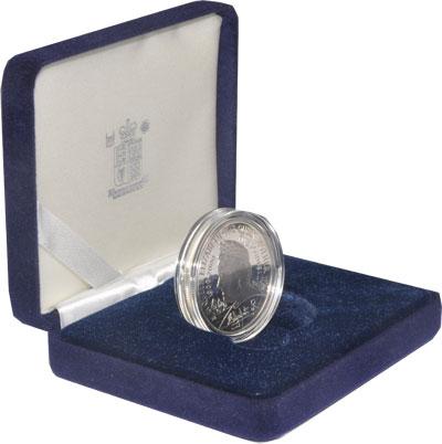 Изображение Подарочные наборы Великобритания 100-летие королевы-матери 2000 Серебро Proof Подарочный набор пос