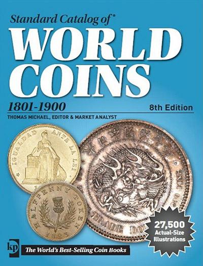 Картинка Книги о монетах Нумизматика Краузе 2015, Стандартный каталог монет 1801-1900  0